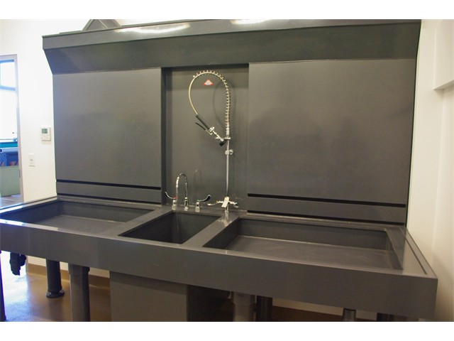 acid etching sink open